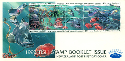 New Zealand Fish Stamps