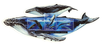 Vanuatu Whale Stamp