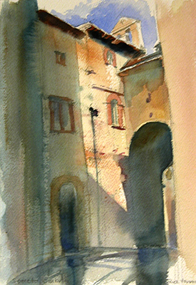 Watercolour France