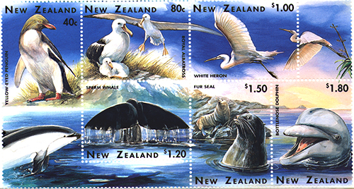 New Zealand Wildlife Stamp